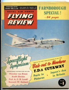 Royal Air Force Flying Review October 1959- Wernher von Braun