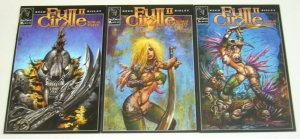 Full Cirkle II: Sum of Parts #1-3 VF/NM complete series - simon bisley - set A