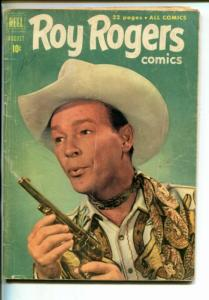 ROY ROGERS #44-1951-WESTERN-PHOTO COVERS-TRIGGER-BULLET-good/vg