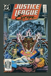 Justice League Europe #9  /  9.0 VFN/NM /  December 1989