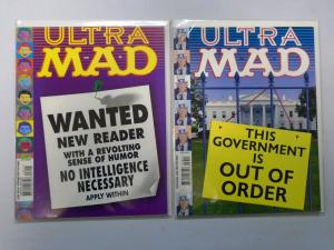 2 Different Ultra Mad Magazines Lot