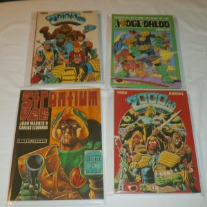 Judge Dredd Annual 1982, 2000 AD Annual 1982, 1984, Strontium Dog GN Titan books