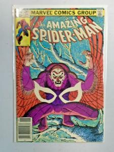 Amazing Spider-Man #241 Newsstand 1st Series water damage 4.0 VG (1983)