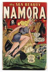 Namora Comics #1 1948- Timely 1st issue- Bill Everett- Sub-mariner comic book
