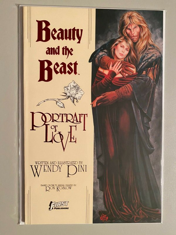 Beauty and the Beast First Publishing #1A Red Foil Cover 8.0 VF (1989)