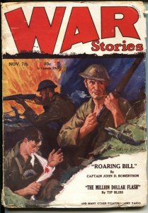 WAR STORIES---JULY 1931----GENERAL PERSHING'S OWN STORY-- FIGHT THE GERMANS T...