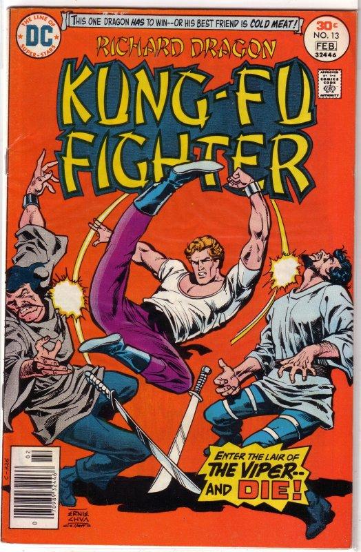 Richard Dragon Kung-Fu Fighter   #13 VG