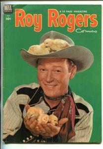 ROY ROGERS #65-1953- PHOTO COVER-KING OF THE COWBOYS-vg