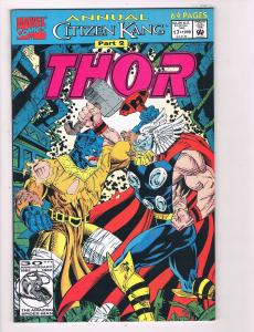 Thor Annual # 17 VF Marvel Comic Book Avengers Hulk Iron Man Loki Hawkeye B99