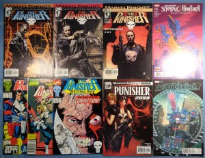 Lot of 9 Punisher Comics Marvel Knights 2099 Daredevil Dr Strange