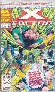 X-Factor Annual #8 (with card) VF/NM; Marvel   save on shipping - details inside