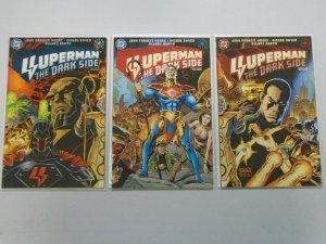 Superman the Dark Side set #1-3 8.0 VF (1998)