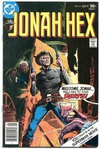 Jonah Hex #4 1977- DC Bronze Western- VF