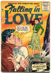 Falling in Love #5 1956- DC Romance Silver Age- Unwelcome Heart G/VG