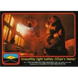 1978 Topps Close Encounters UNEARTHLY LIGHT BATHES JILIAN'S HOME