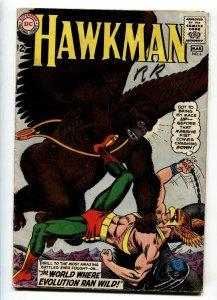 HAWKMAN #6 1965-GORILLA COVER-DC COMICS SILVER AGE VG
