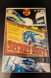 Secret Six #1 (1968) 1st Series and 1st Team Appearance. Beautiful. Pics.