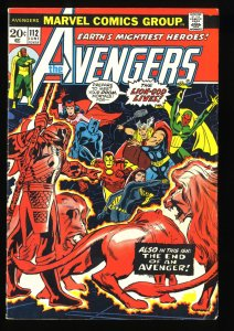 Avengers #112 FN 6.0 1st Mantis!