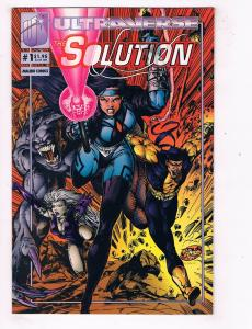 Solution (1994) #1A Ultraverse Marvel Comic Book Dragon Fang Lela Cho HH3