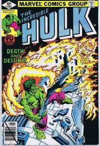 Incredible Hulk #243 ORIGINAL Vintage 1980 Marvel Comics Power Man Iron Fist