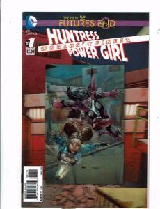 3 DC Futures End Comics # 1 NM Huntress Power Girl Wonder Woman Infinity Man RF4