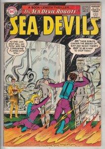 Sea Devils #19 (Oct-64) VF High-Grade Sea Devils (Dane Dorrence, Biff Bailey,...