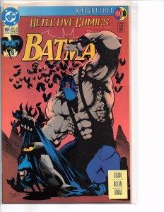 DC Comics Detective Comics #664 Batman; Knightfall Part 12 1st Print Jones Cover