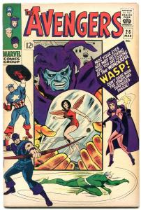The Avengers #26 1966- Marvel Silver Age f/vf