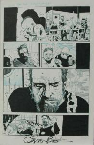 SIMON BISLEY Original Art, KINGDOM of FLIES #4 page 12 +, 2008, 12x17, 2 pages
