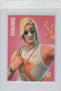 Fortnite Sun Tan Specialist 242 Epic Outfit Panini 2019 trading card series 1
