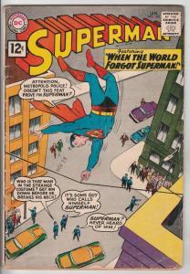 Superman #150 (Jan-62) VG/FN Mid-Grade Superman, Jimmy Olsen,Lois Lane, Perry...