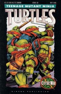 Teenage Mutant Ninja Turtles (1st Series) #59 VF; Mirage   save on shipping - de