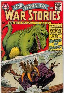 Star Spangled War Stories #122 (Sep-65) FN+ Mid-High-Grade Dinosaur