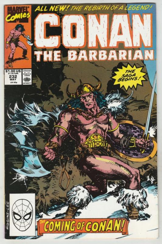 Conan the Barbarian #232 (May-90) VF/NM High-Grade Conan the Barbarian