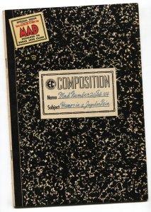 MAD #20 1955-EC-WALLY WOOD-JACK DAVIS-COMPOSITION BOOK COVER-BILL ELDER-FN+
