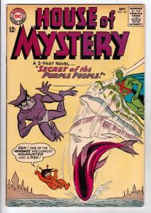 House of Mystery #145 (Sep-64) VF+ High-Grade Martian Manhunter