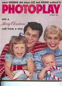 Photoplay-Tony Curtis-Janet Leigh-Rick Nelson-Joan Crawford-Pat Boone-Jan-1960
