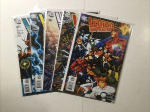 Legion Of Super-Heroes 37-41 37 38 39 40 41 Lot Run Set Near Mint Dc Comics