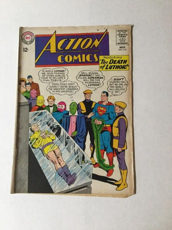 Action Comics 318 3.0 Gd/vg Good / Very Good Silver Age