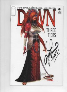 DAWN THREE TIERS #4, NM, Signed by Joseph Linsner, CFD, more JML in store