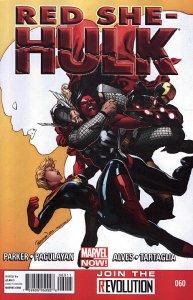 RED SHE-HULK  (2012 Series) #60 Near Mint Comics Book