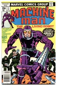 MACHINE MAN #1-FIRST ISSUE-HIGH GRADE-NM-BRONZE AGE MARVEL