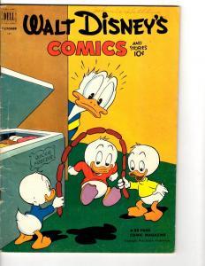 Walt Disney's Comics & Stories # 145 VG/FN Dell Comic 1950 Golden Age Duck JL14