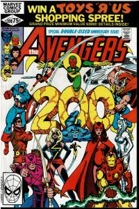 Avengers #200, 9.0 or Better *KEY Controvertial Issue* Carol Danvers Raped