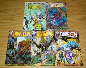 Division 13 #1-4 VF/NM complete series + comics greatest world - keith giffen