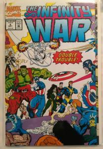 Marvel Comics The Infinity War, #1, #3, #4 VF+, Jun, Aug, Sept 1992