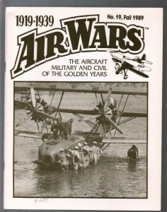 Air Wars #19  Fall 1989-Aircraft & air warfare of the middle years 1919-1939-Sec