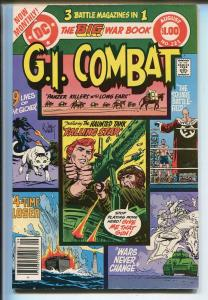 G.I. COMBAT #221 1980-DC-THE HAUNTED TANK- GLANZMAN-DICK AYERS-KUBERT-nm minus