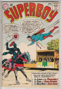 Superboy #103 (Mar-63) FN/VF Mid-High-Grade Superboy