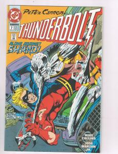 Peter Cannon Thunderbolt (1992) #7 DC Comic Book Shard Evila HH2